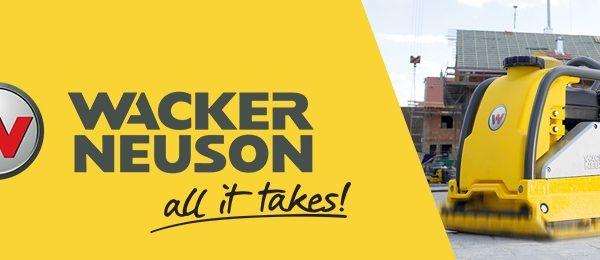 Wacker Neuson behoord ook tot onze expertise